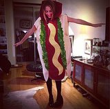 Harley Viera-Newton was one hot dog. Source: Instagram user harleyvnewton