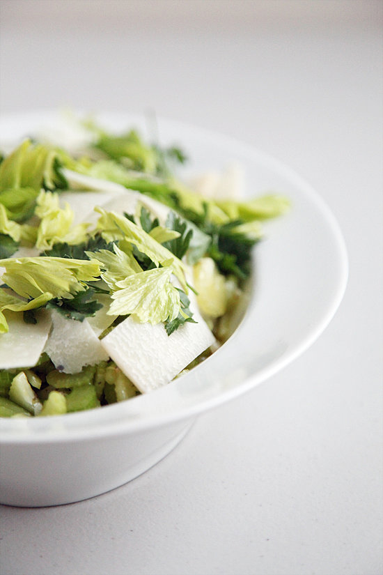 The Greens: Celery and Parmesan Salad