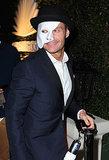 Phantom of the Opera Ryan Seacrest went as the phantom of the opera.