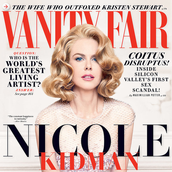 Nicole Kidman in Vanity Fair Magazine December 2013 Issue