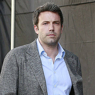 Ben Affleck on the Set of Gone Girl