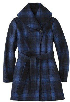 Merona® Women's Shawl Collar Coat -Athens Blue