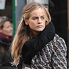 Cressida Bonas Walking in London