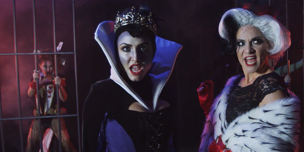 Disney Villains Do Broadway's Chicago