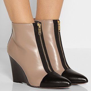 Marc by Marc Jacobs Two-Tone Wedge Booties | Review