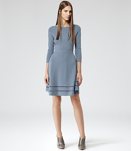 Didsbury KNITTED FIT AND FLARE DRESS