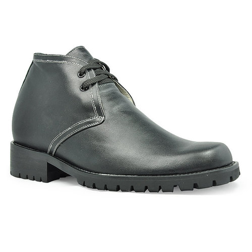 Black men height boots that make you taller 9cm / 3.54inch