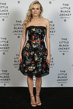 Diane Kruger was a floral treat in Chanel and Stuart Weitzman sandals at the Little Black Jacket event in São Paulo.