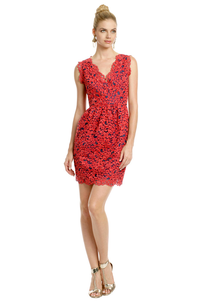 Shoshanna Primary Lace Dress ($75)