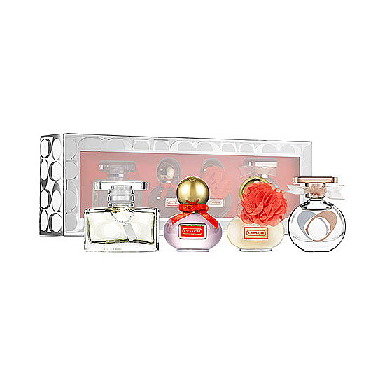 Not only is Coach's Mini Coffret ($48) sweet-smelling, but it will look amazingly beautiful on your friend's vanity, too!