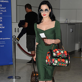 Dita Von Teese Travel Tips