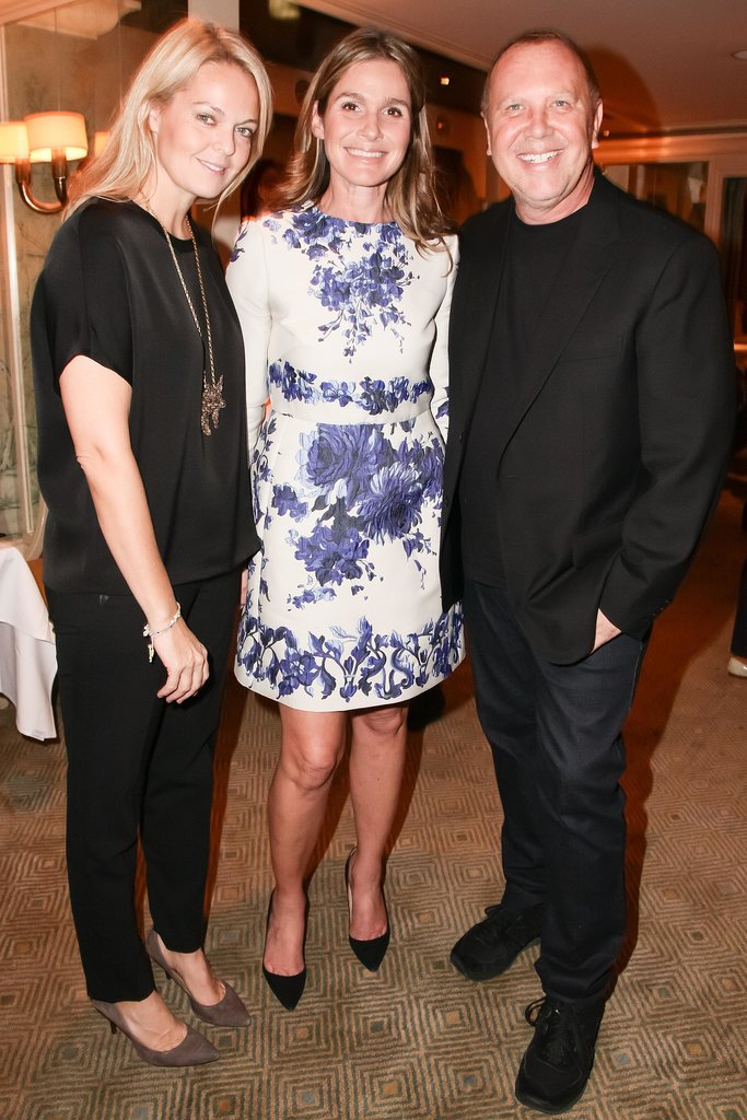 Lauren Dupont and Michael Kors joined Aerin Lauder to celebrate Beauty at Home with Bergdorf Goodman.