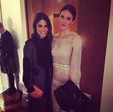 Nikki Reed and Mandy Moore were the picture of Chloé perfection at the label's fashion show. Source: Instagram user iamnikkireed