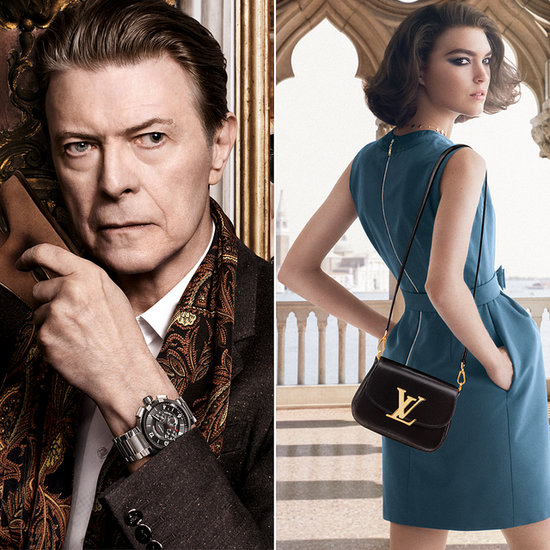 David Bowie's Latest Muse, Courtesy of Louis Vuitton