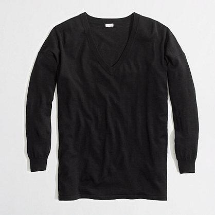 Factory merino boyfriend sweater