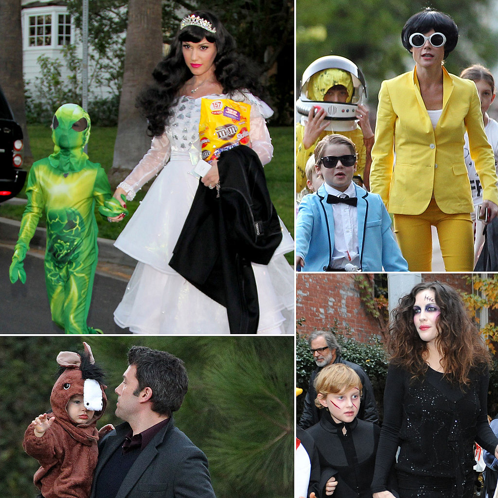 We Want Candy! Stars Hit the Streets For Trick or Treat