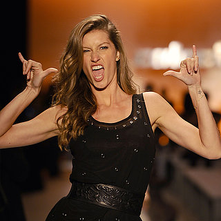 Pictures Of Gisele Bundchen On The Sao Paulo Catwalk, 2013