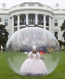 But seriously, did we mention Glinda the Good Witch? In a bubble?!