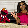 Michelle Obama and Elmo For Let's Move