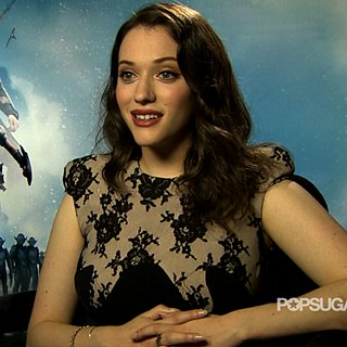 Kat Dennings Interview For Thor: The Dark World | Video