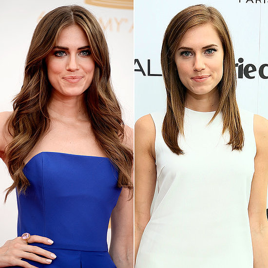 On Facebook this week, celebrity haircuts were at the height of popularity. Allison Williams's trim was a fan favorite.