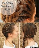 This easy-to-follow side braid tutorial rose in the ranks on Pinterest.  Photo: Anna Monette Roberts