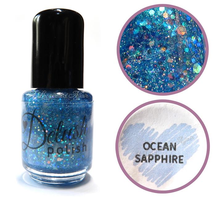Delush Polish Ocean Sapphire, bottle shot