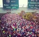 A shot of just a small fraction of the race participants. Source: Instagram user asics