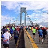 A look from the first bridge runners cross during the race. There are a total of five bridges as runners make their way through the city's boroughs.  Source: Instagram user asaspadez