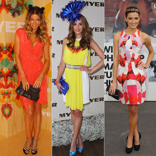See the Best Celebrity Melbourne Cup Fashion Moments