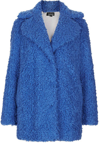 Teddy Fur Pea Coat