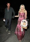 Gavin Rossdale and Gwen Stefani left their friend's baby shower.