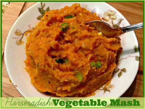 Horseradish Vegetable Mash