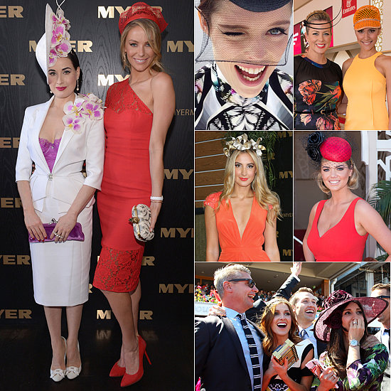 All the Pictures! Celebs Out in Full Force for the Melbourne Cup