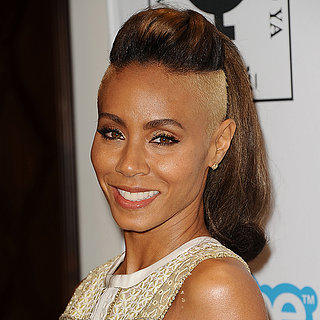 Jada Pinkett Smith's Blonde Shaved Hair 2013