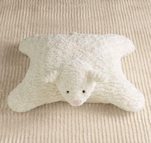 For Infants: Plush Lamb Floor Pillow