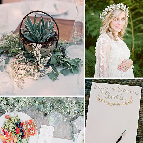 Sweet as Honey! A Light and Airy Outdoor Baby Shower