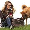 Blake Lively With Ryan Reynolds's Dog, Baxter