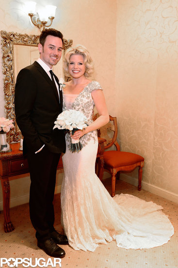 Megan Hilty married Brian Gallagher in Las Vegas in October 2013.