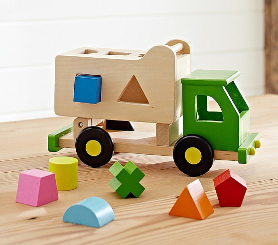 Pottery Barn Kids Sort N Tip Truck