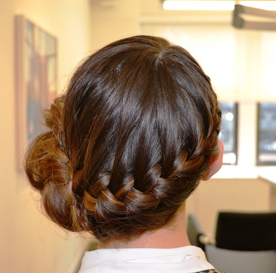 This Plaited Bun Can Be Yours in 5 Easy Steps
