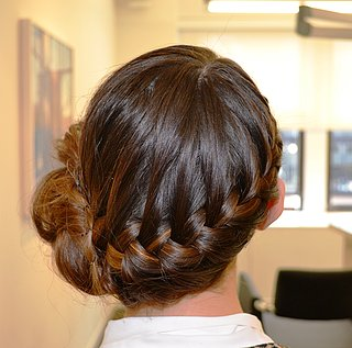 Easy Braided Bun Tutorial