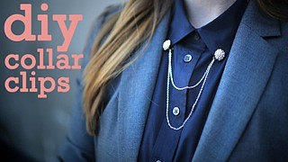 DIY: Collar Clips