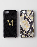 Python Embossed Case For iPhone 5