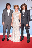 The Band Perry hit the red carpet.
