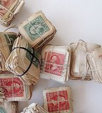 The Studio Carta stamps ($18) contain three sets of vintage stamps for the hostess who loves to send snail mail.