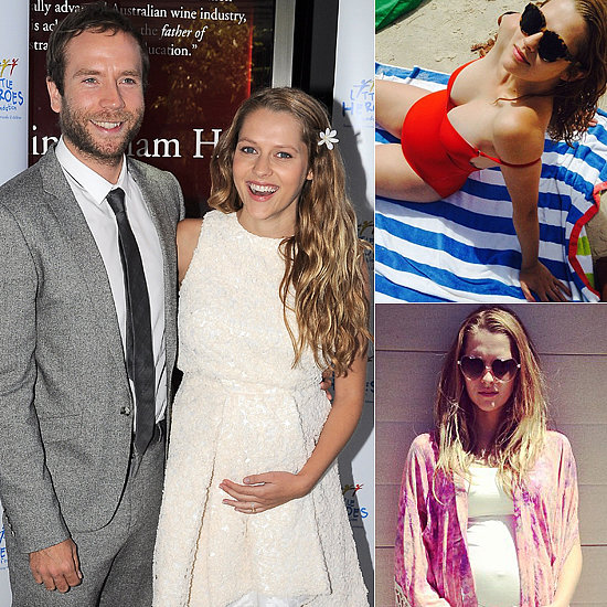 Teresa Palmer Has That Pregnancy Glow!