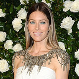 Celebs At 2013 MoMA Film Benefit: Jessica Biel White Dress