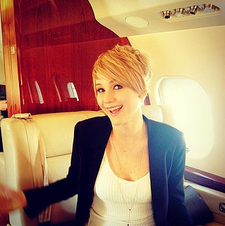 Jennifer Lawrence's Short Haircut 2013