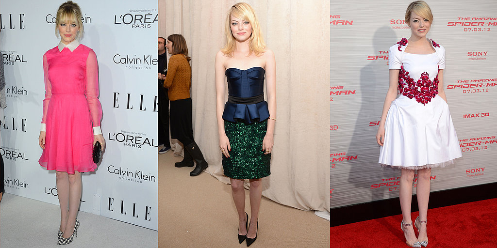 Happy Birthday, Emma Stone! Recap Her 25 Most Memorable Red Carpet Moments